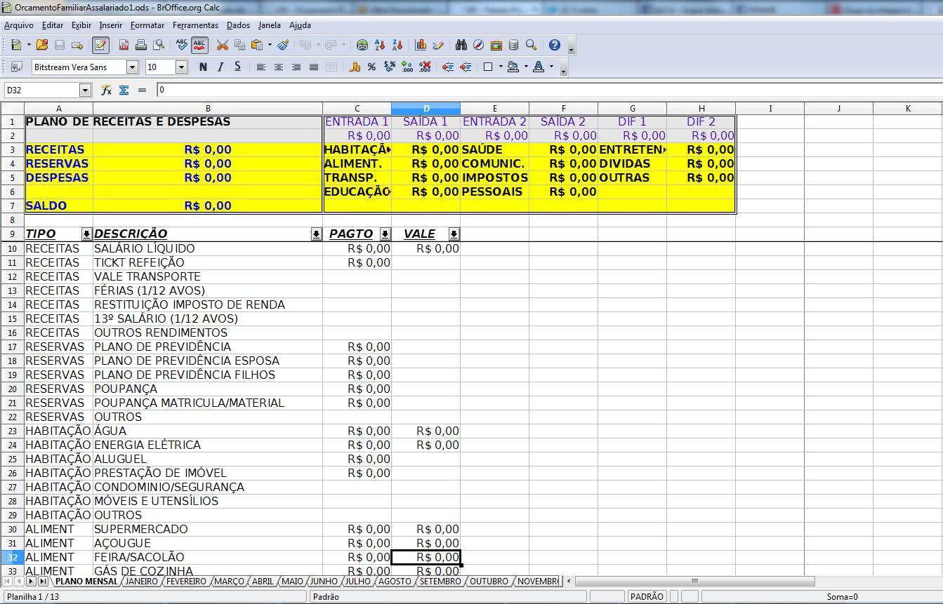 Planilha de Controle de Despesas ( Foto: Divulgação)