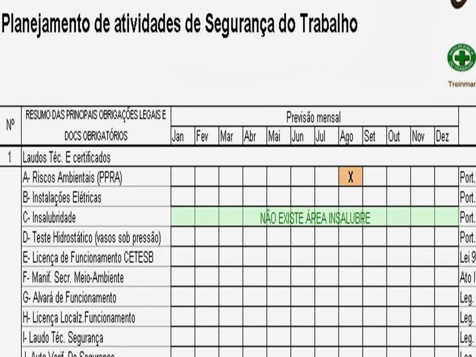 e22babd44bea5 Planilha de Controle de EPI e Segurança do Trabalho - Excel Grátis