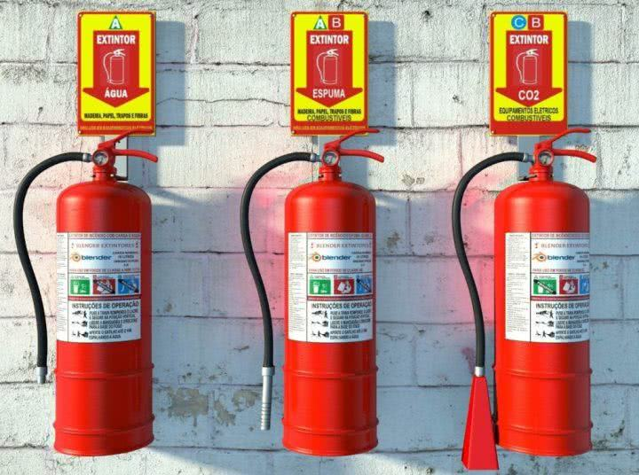 planilha de controle extintor de incendio